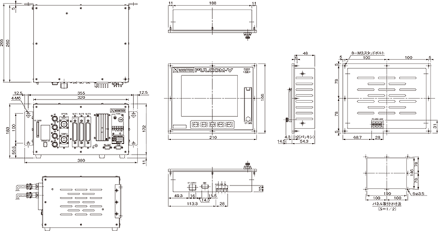 pulcom v10a  v10s uff5cin process gauge u30fbpost process gauge